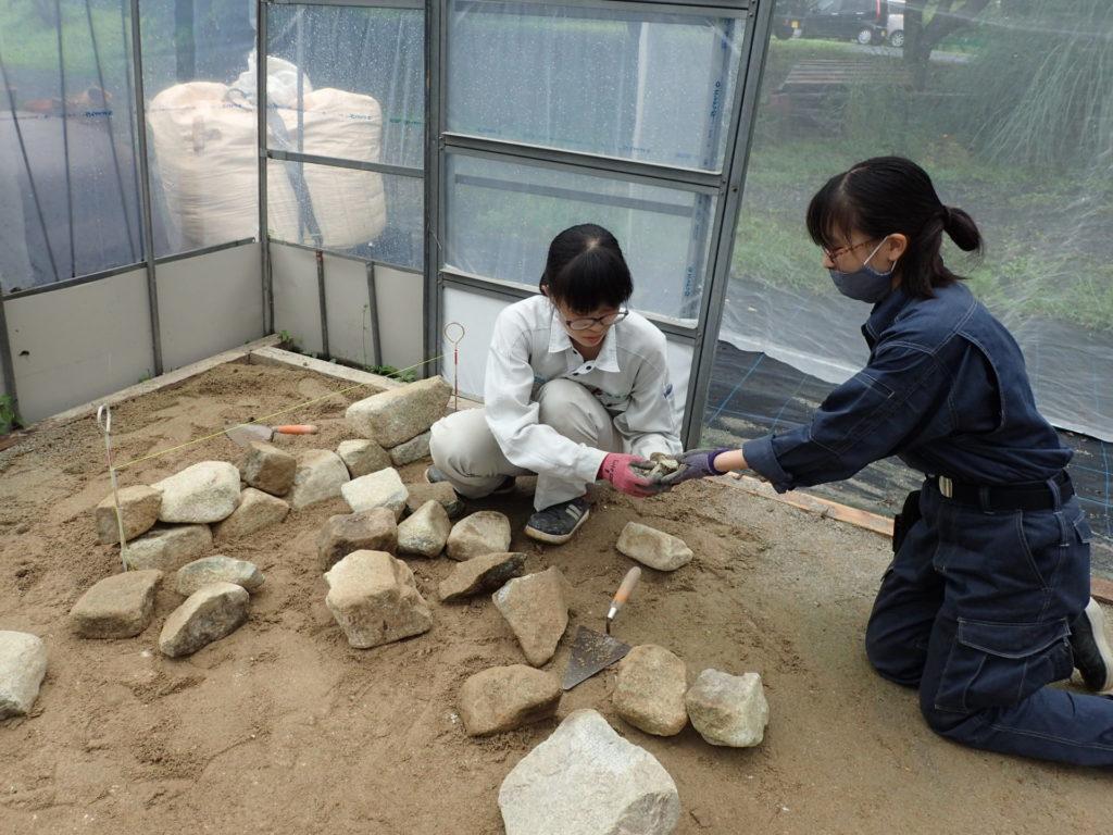 石積み練習