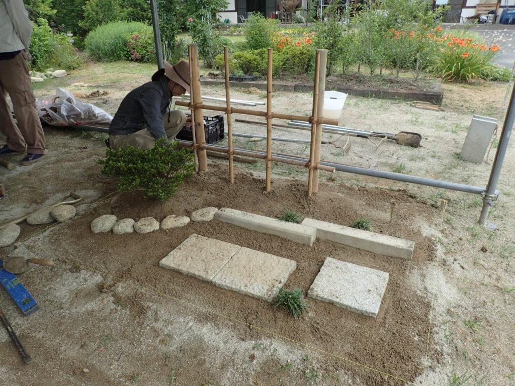 3級造園技能検定対策実習