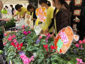 販売イメージ(昨年度の岐阜県農業フェスティバルでの販売の様子)