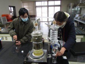 ハーブ蒸留器(水蒸気蒸留法/直接法)