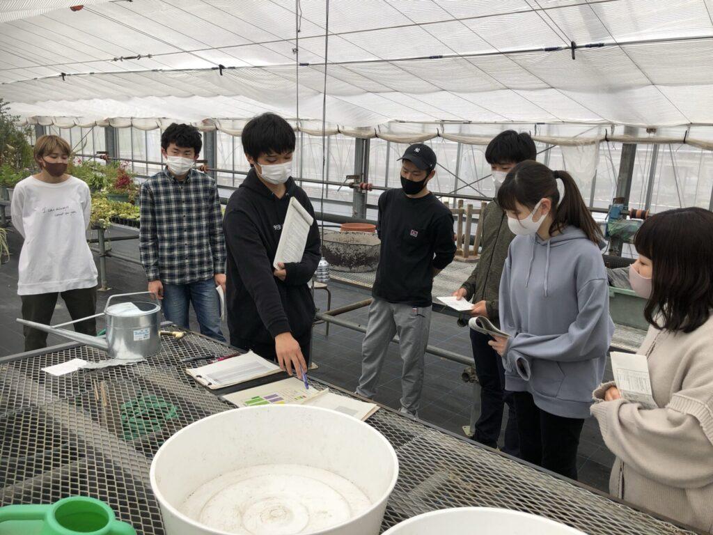温室の管理方法指導